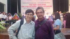 Với TS Lê Nguyên Phương - Hội thảo Tâm lý Học Đường - Đà Nẵng 07/2017